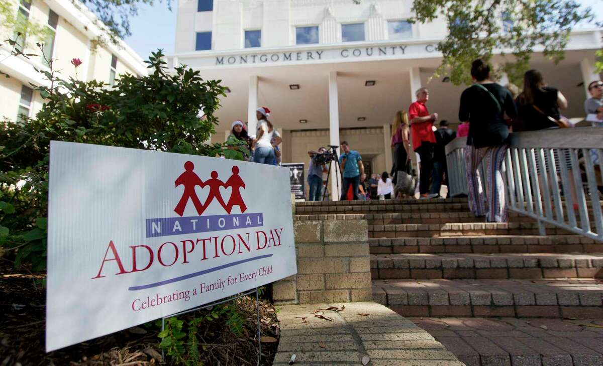 """Last month, 26 children were placed with families on Montgomery County Adoption Day. A resolution designating Nov. 15 as adoption day drew fire from social conservatives for mentioning """"gender identity."""""""
