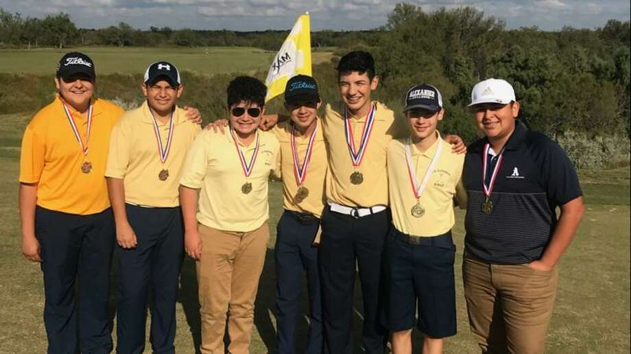 Alexander is in first place after the opening round of the UISD Invitational at the Max A. Mandel Municipal Golf Course. Photo: Courtesy Photo