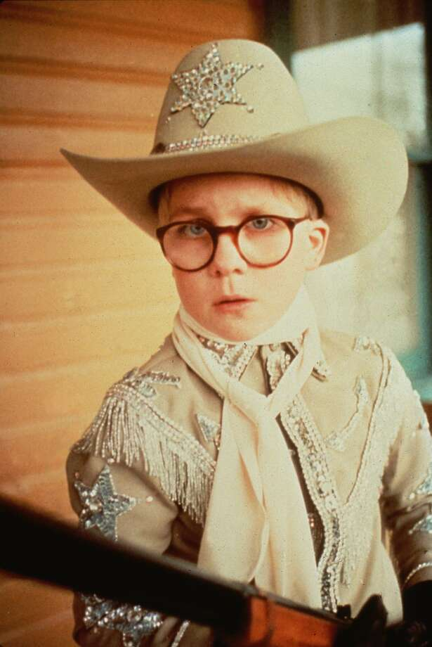 "Peter Billingsley as Ralphie in the film ""A Christmas Story"" Photo: WARNER BROS"