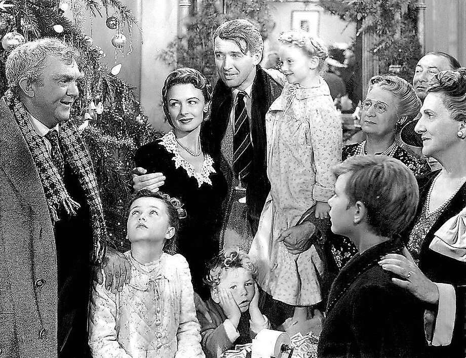 "The holiday classic ""It's a Wonderful Life"" was adapted into a radio play in the 1940s. Photo: Contributed Photo"