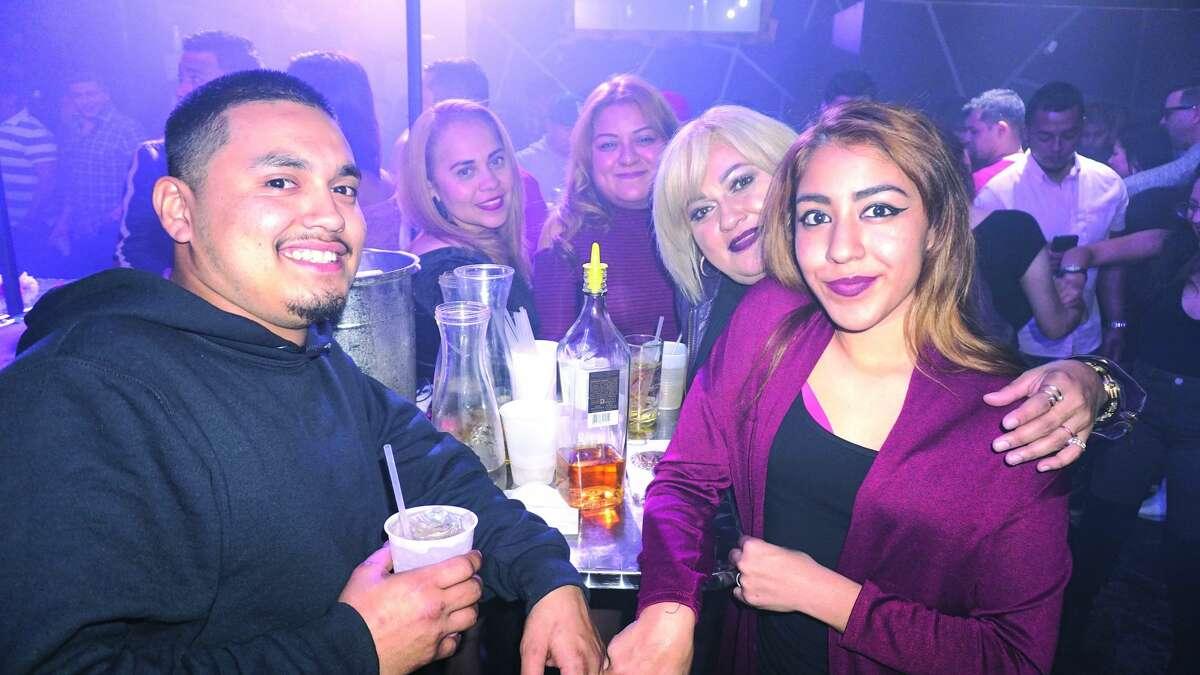 Jose Rodriguez, Alysha Rodriguez, Judy Rodriguez, Elsa Rodriguez and Elena Ruiz at Club Vibe Friday, December 1, 2017