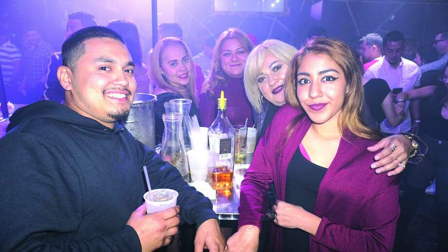Jose Rodriguez, Alysha Rodriguez, Judy Rodriguez, Elsa Rodriguez and Elena Ruiz at Club VibeFriday, December 1, 2017 Photo: Jose Gustavo Morales