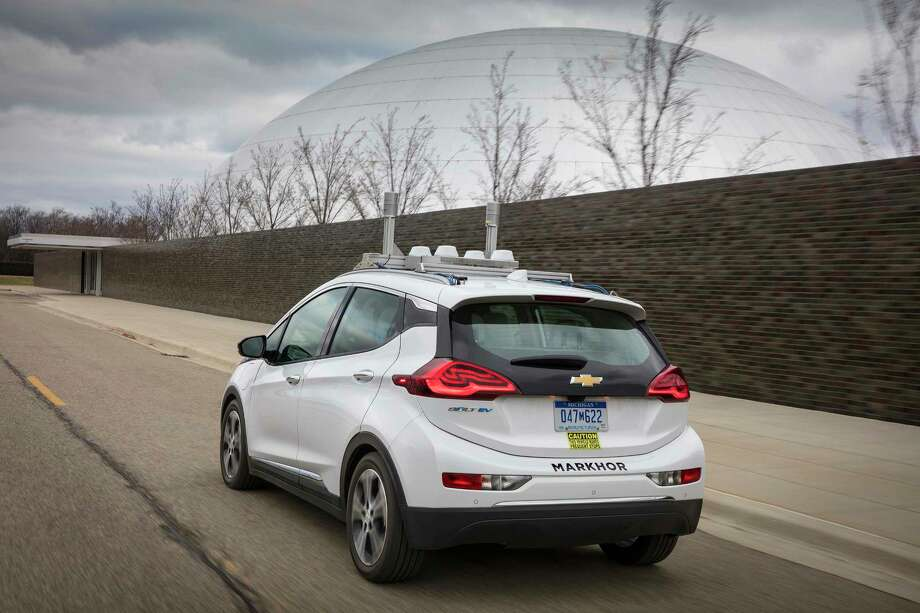 General Motors has begun testing fully autonomous development fleet vehicles on public roads in Michigan. / Mueller/General Motors
