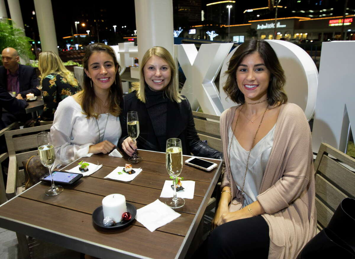 Sights and people attending the VIP opening of Moxie's on Westheimer on Thursday, Nov. 30, 2017, in Houston.