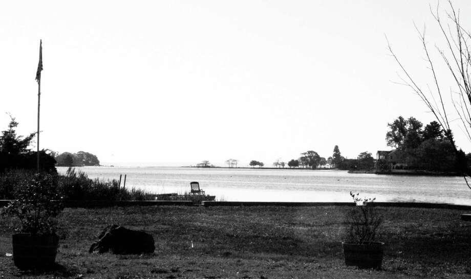 A calm view of Long Island Sound from Darien in November. Photo: Erin Kayata / Hearst Connecticut Media / Darien News