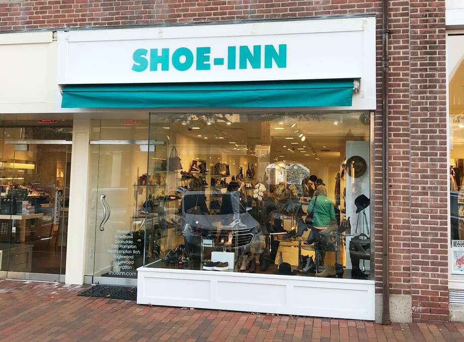Shoe Inn, a retailer that sells upscale women shoes and accessories, is leasing space at 36 Elm St. Photo: Contributed Photo / New Canaan News