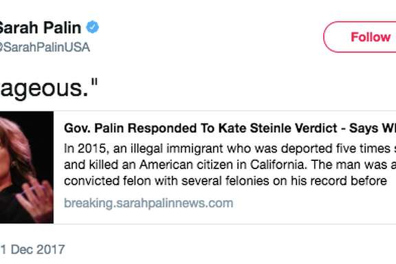 Republicans took to social media to react to the Kate Steinle verdict reached on Nov. 30, 2017.