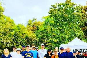 Martha Turner Sotheby's International Realty turned out a big group for the big job of helping to clean up Buffalo Bayou due to Harvey's impact.