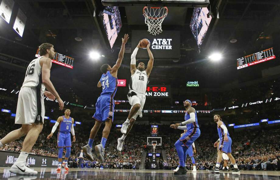 The Spurs-Oklahoma City rivalry remains strong. Photo: Ronald Cortes /Getty Images / 2017 Getty Images