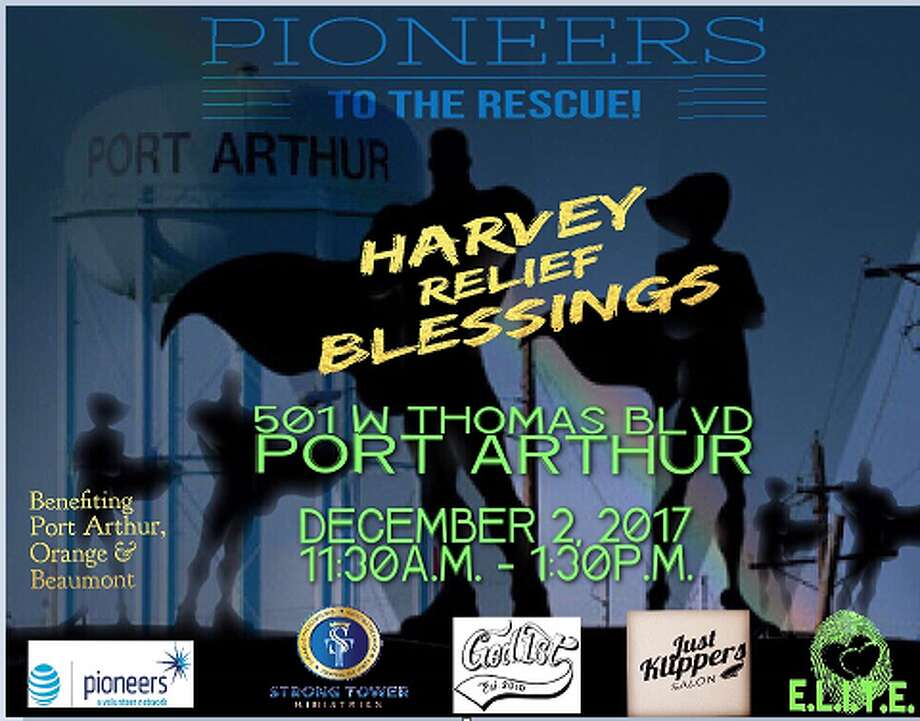Harvey Relief Blessings Photo: AT&T Pioneers