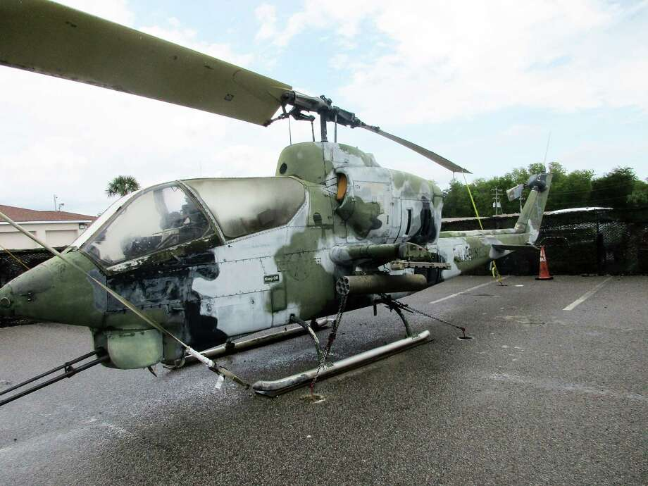 Large relics from the Vietnam War, including various helicopters, are on view throughout Vietnam Experience near Charleston, S.C. Photo: Photo By John Bordsen For The Washington Post / John Bordsen