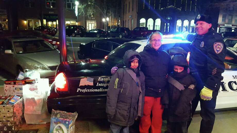 Officer Anthony Knapp with some Boy Scouts from last year's event. Photo: Contributed