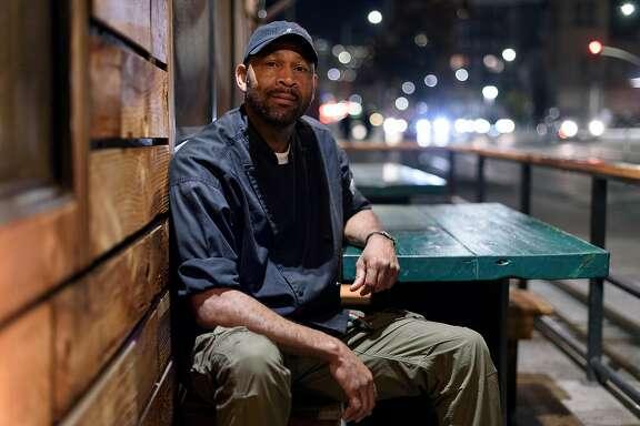 Owner Nigel Jones poses for a portrait at his restaurant Kingston 11, in Oakland, CA, on Thursday November 30, 2017.