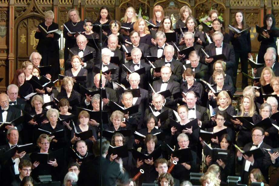 "The Greenwich Choral Society's traditional December concerts will feature the world premiere of Colin Britt's ""Light Upon Light"" Saturday and Sunday. Photo: Contributed Photo / Contributed Photo / Greenwich Time Contributed"