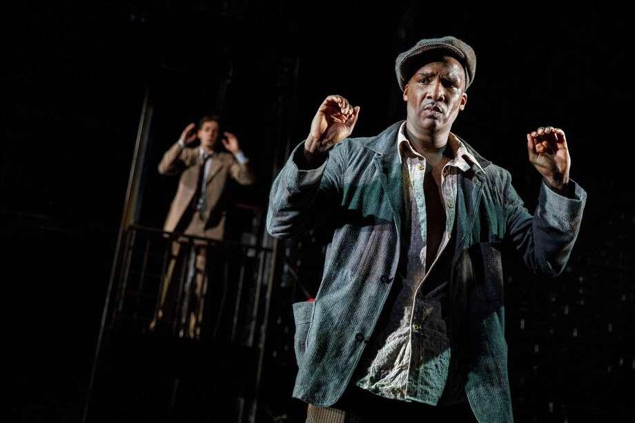 Jerod Haynes as Bigger: a fate seemingly preordained. Photo: Joan Marcus / Joan Marcus