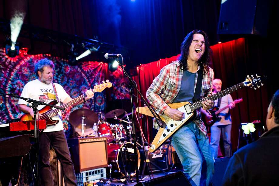 The Neil Young tribute band, Broken Arrow, looks the part. Photo: The Kate / Contributed Photo