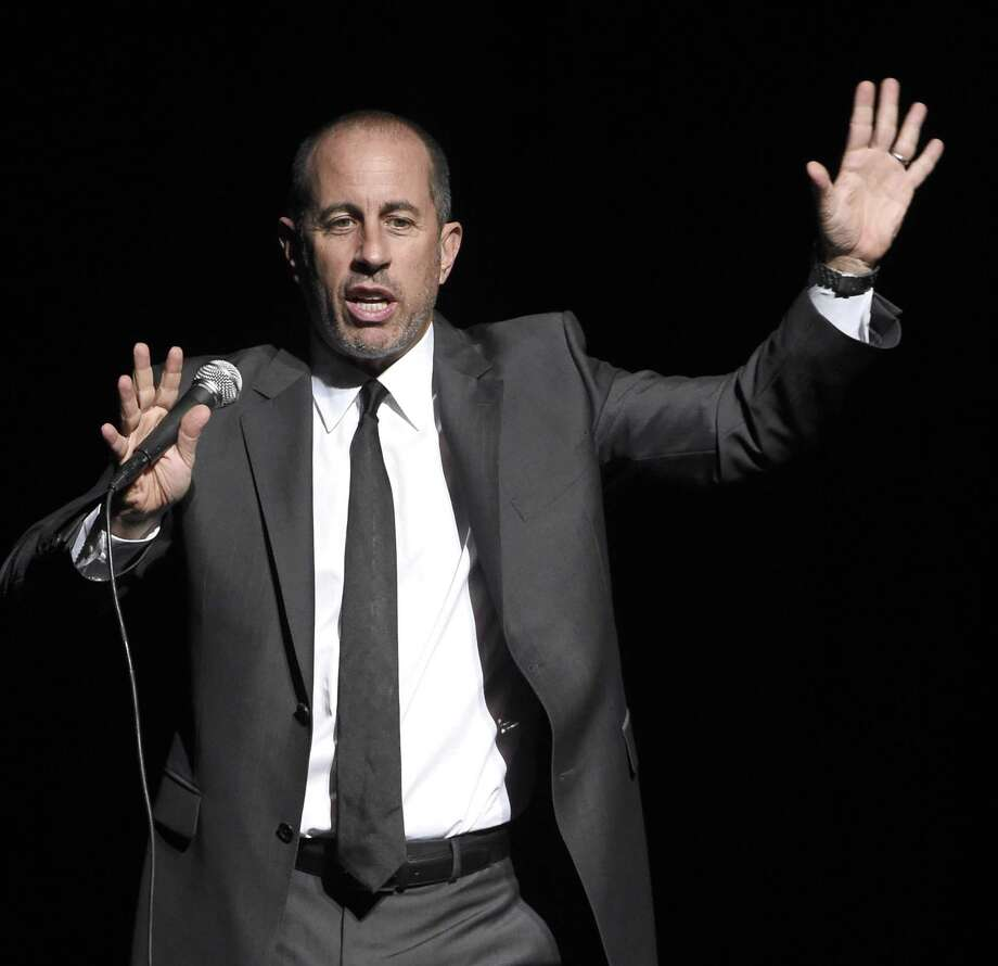 Comedian Jerry Seinfeld performs in the Grand Theater at Foxwoods Resort Casino on Dec. 9. Photo: Kevin Mazur / Contributed Photo / 2015 Kevin Mazur