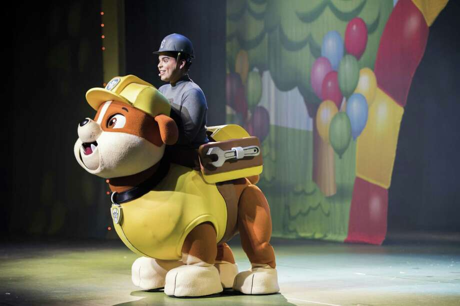 """PAW Patrol Live! Great Pirate Adventure"" arrives at Oakdale in Wallingford on Dec. 8. Photo: Brett Marks / Contributed Photo / James Wessels   RockMemphisLive 9012010560 Memphis TN"
