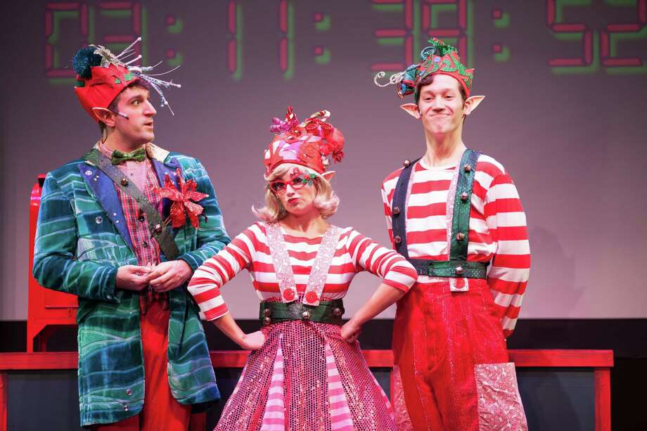 """The Christmas Elf"" is on stage at the Downtown Cabaret Theatre in Bridgeport through Dec. 28. Photo: Runefilms / Contributed Photo"