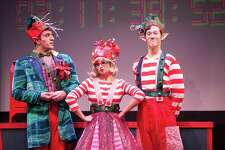 """""""The Christmas Elf"""" is on stage at the Downtown Cabaret Theatre in Bridgeport through Dec. 28."""