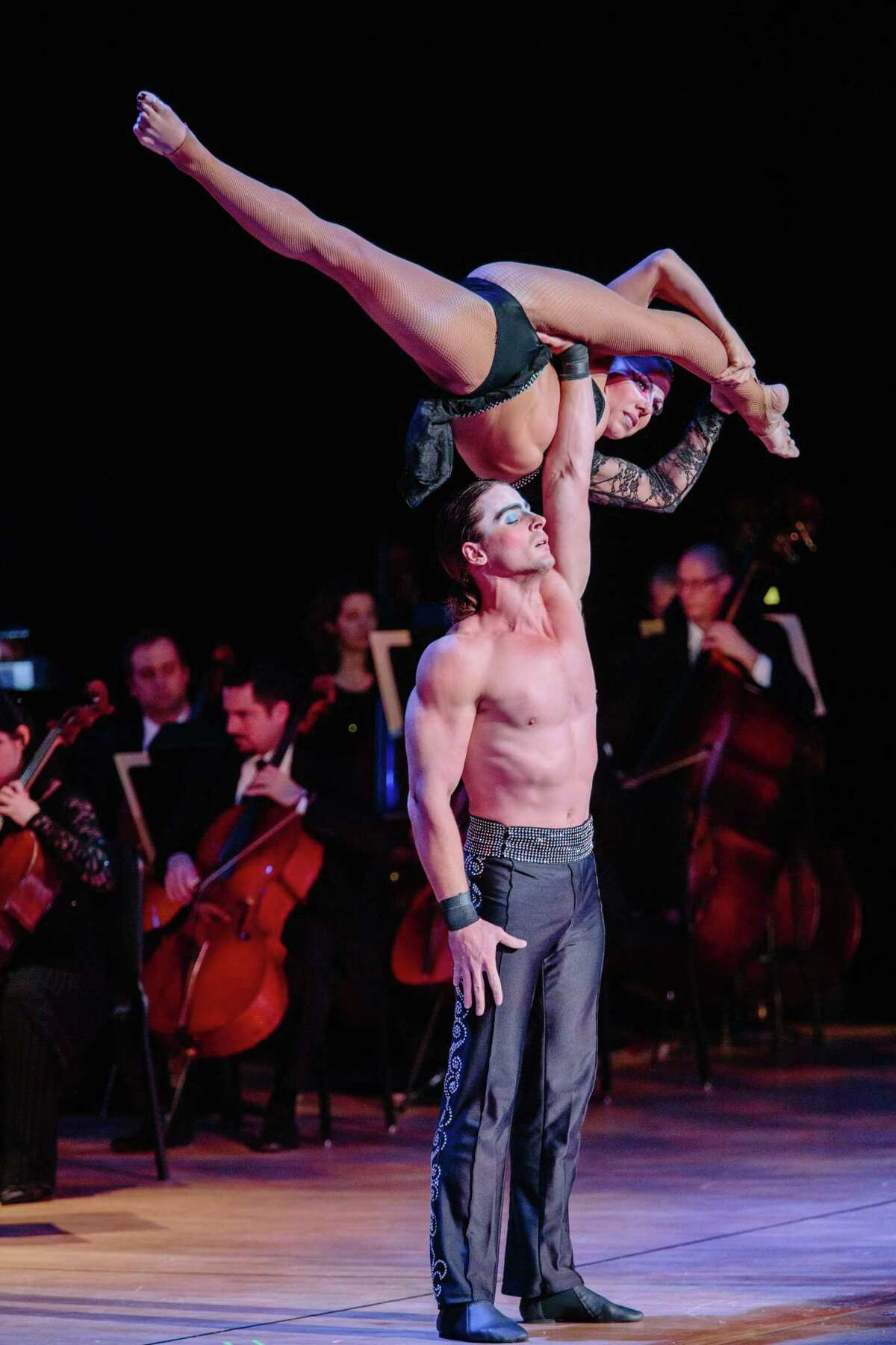 """Cirque Musica Holiday's """"Believe"""" is coming to the Webster Bank Arena in Bridgeport on Dec. 12. Music, acrobatics and dance are featured."""
