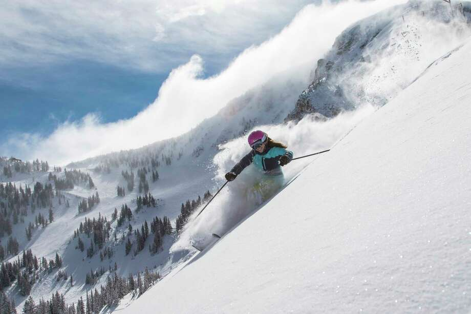 Alta is characteristically a local hub, with legendary powder and proximity to Salt Lake City. Photo: Chris Pearson / ONLINE_YES