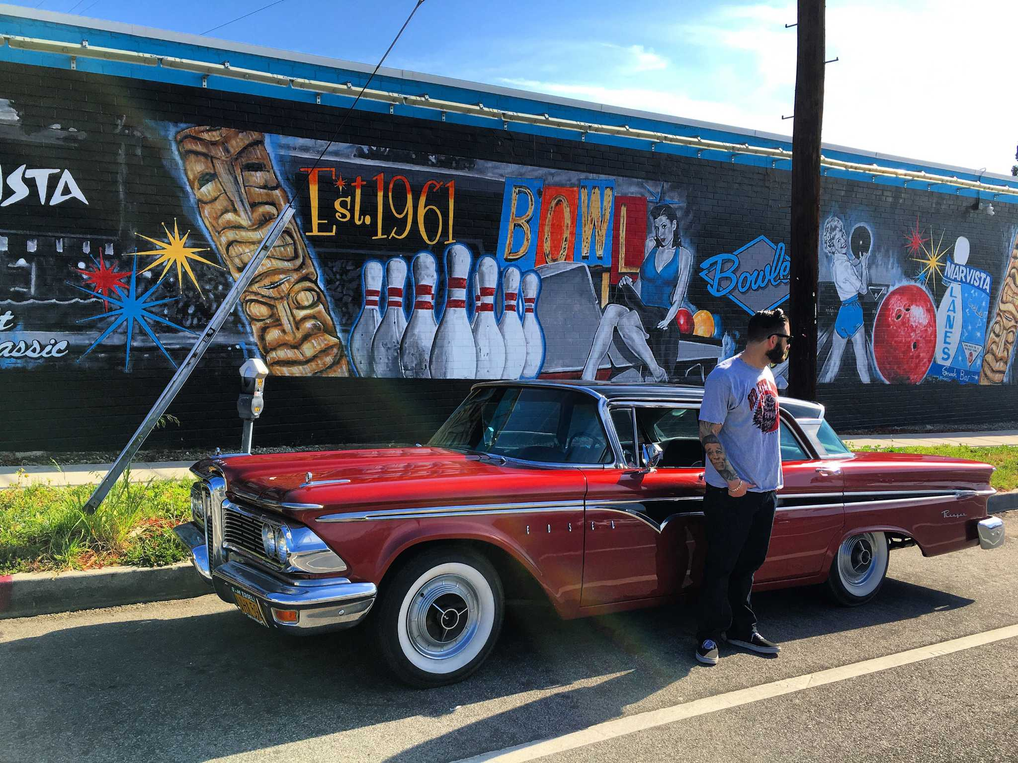 Heidi's customs & classics: Los Angeles' car-centric nature influences Jonas Never's work