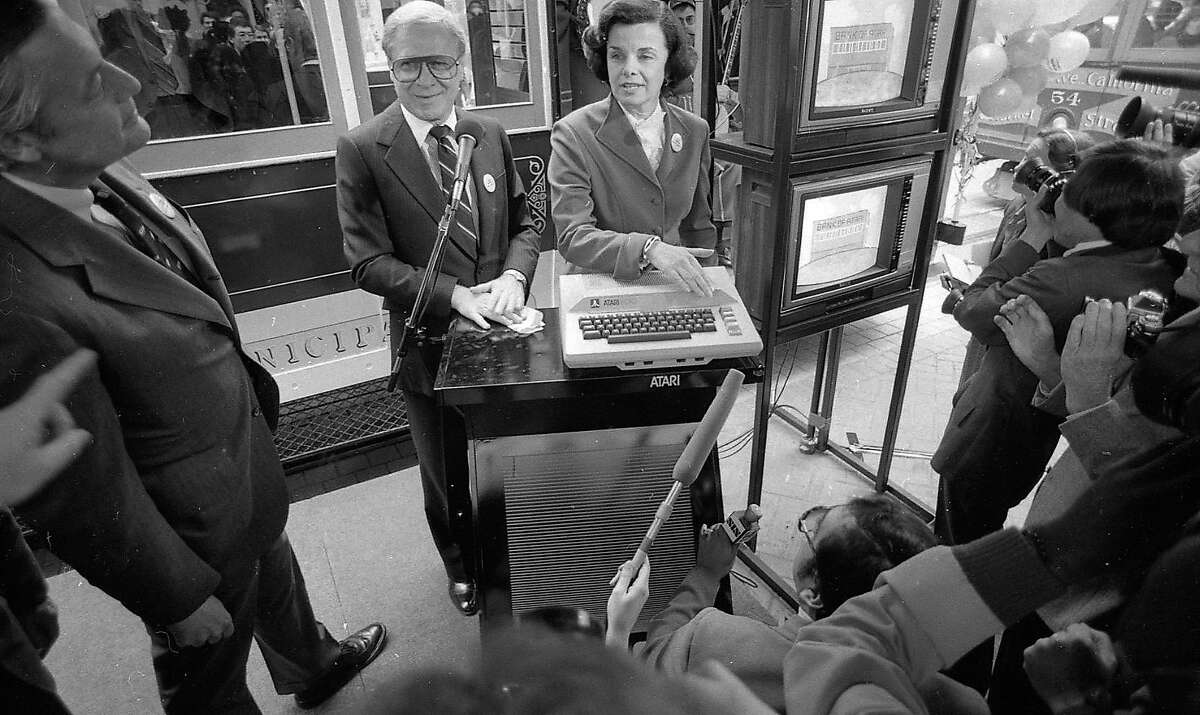 San Francisco Mayor Dianne Feinstein courted a donation from Atari for the Save the Cable Cars fund while supporting a ban of video game arcades from residential neighborhoods.