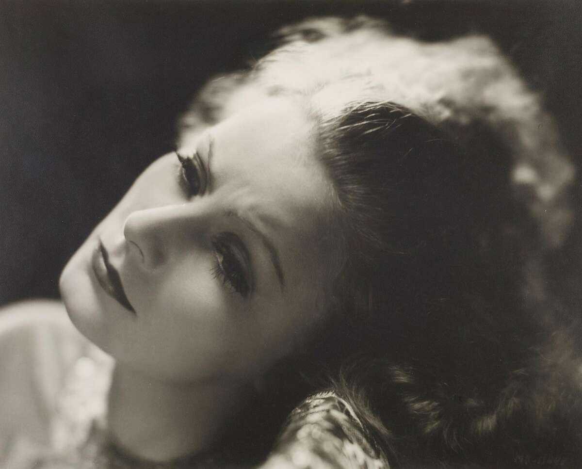 Clarence Sinclair Ball's portrait of Greta Garbo, circa 1935, is one of the works on view (and for sale) in a show of works from the collection of curator Robert Johnson at the Ice House Gallery in Petaluma.