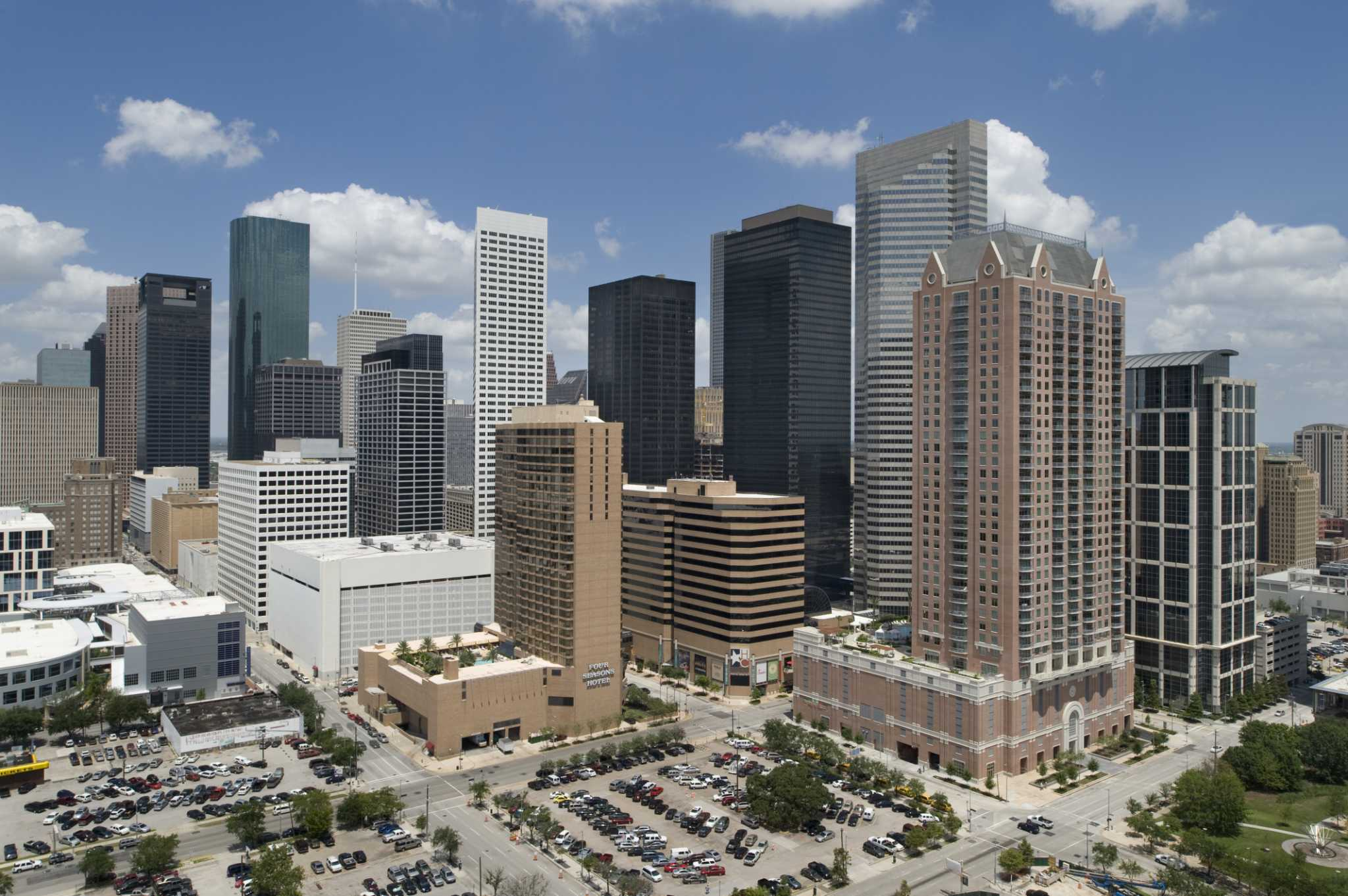 Brookfield closes on mega downtown deal - Houston Chronicle