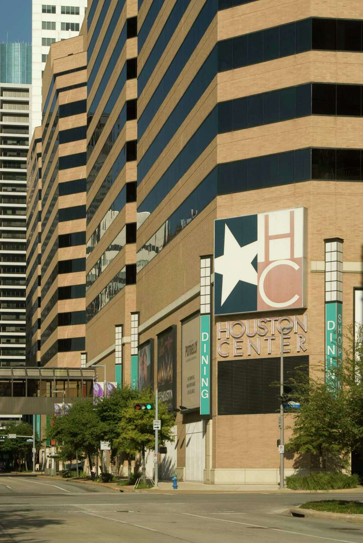 Brookfield Property Partners has closed on its purchase of Houston Center,a 4-building complexwith 12 million square feet of properties on the eastern edge of downtown. Buildings include 2 Houston Center,Fulbright Tower,LyondellBasell Towerand4 Houston Center, Photos are embargoed for 12/4/17.