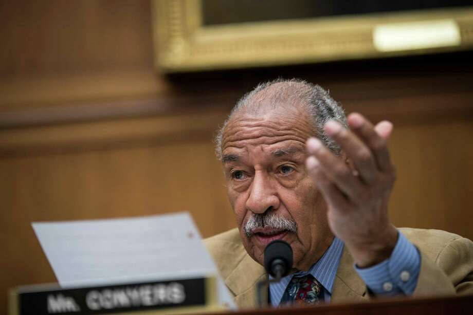 A reader says liberals focus on the misbehavior of Republicans, but Democrats have engaged in their own sexual misconduct, including Rep. John Conyers Jr., who stepped aside as the top Democrat on the House Judiciary Committee after allegations of sexual harassment against him. Photo: Drew Angerer / / 2017 Getty Images