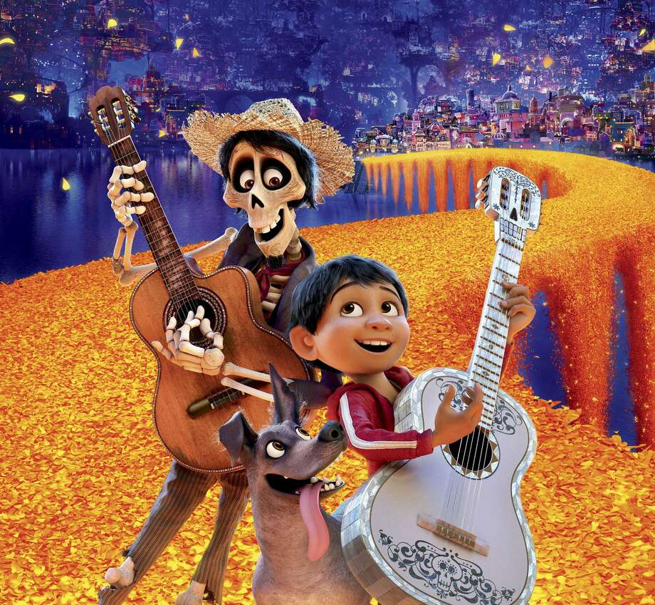 "The movie ""Coco"" demonstrates that a movie about Latinos is best told by Latinos. Photo: Pixar /"