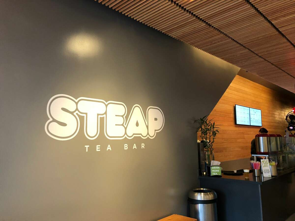 STEAP Tea Bar, located in Chinatown, crafts cheese teas like Tony's Tea in addition to other bubble teas.