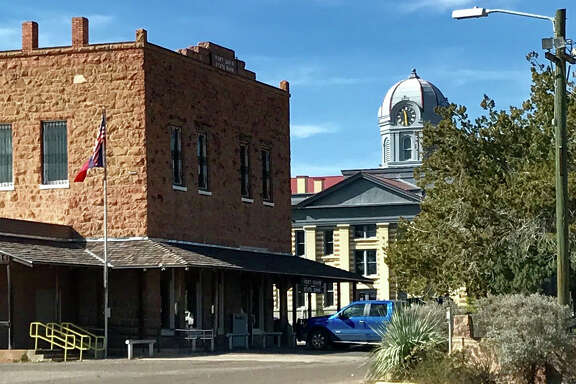 Downtown Fort Davis still resembles its frontier past