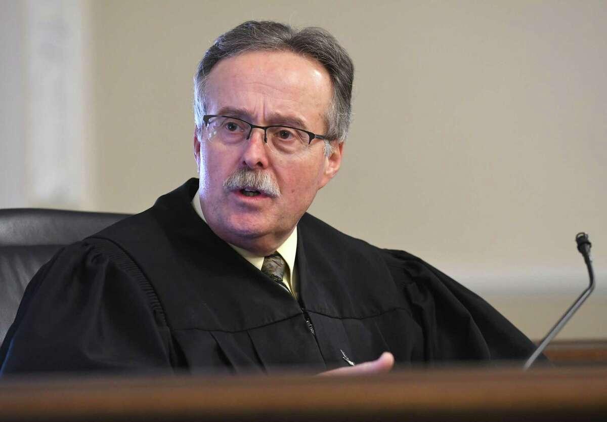 FILE. Judge Jonathan Nichols on Friday, Dec. 1, 2017, in Troy, N.Y. (Lori Van Buren / Times Union)