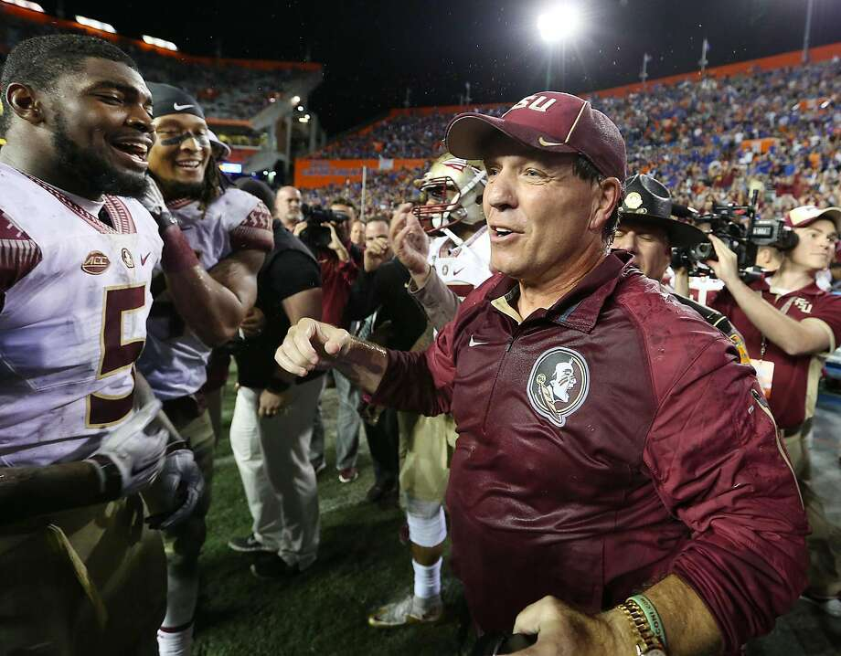 Jimbo Fisher, who won a national title and three ACC titles with Florida State, is the new Texas A&M head coach. Photo: Stephen M. Dowell, TNS
