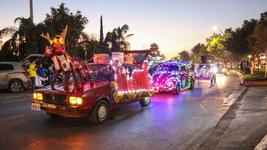 El desfile navideño se llevará a cabo el 16 de diciembre en Nuevo Laredo, México. Photo: Foto De Cortesía /Gobierno De Nuevo Laredo