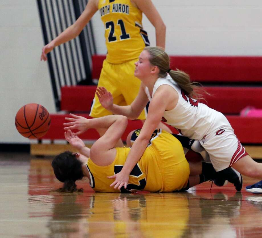 North Huron at Caseville — Basketball 2017 Photo: Paul P. Adams/Huron Daily Tribune