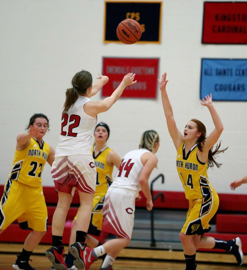 North Huron at Caseville — Basketball 2017 Photo: Paul P. Adams/Huron Daily Tribune