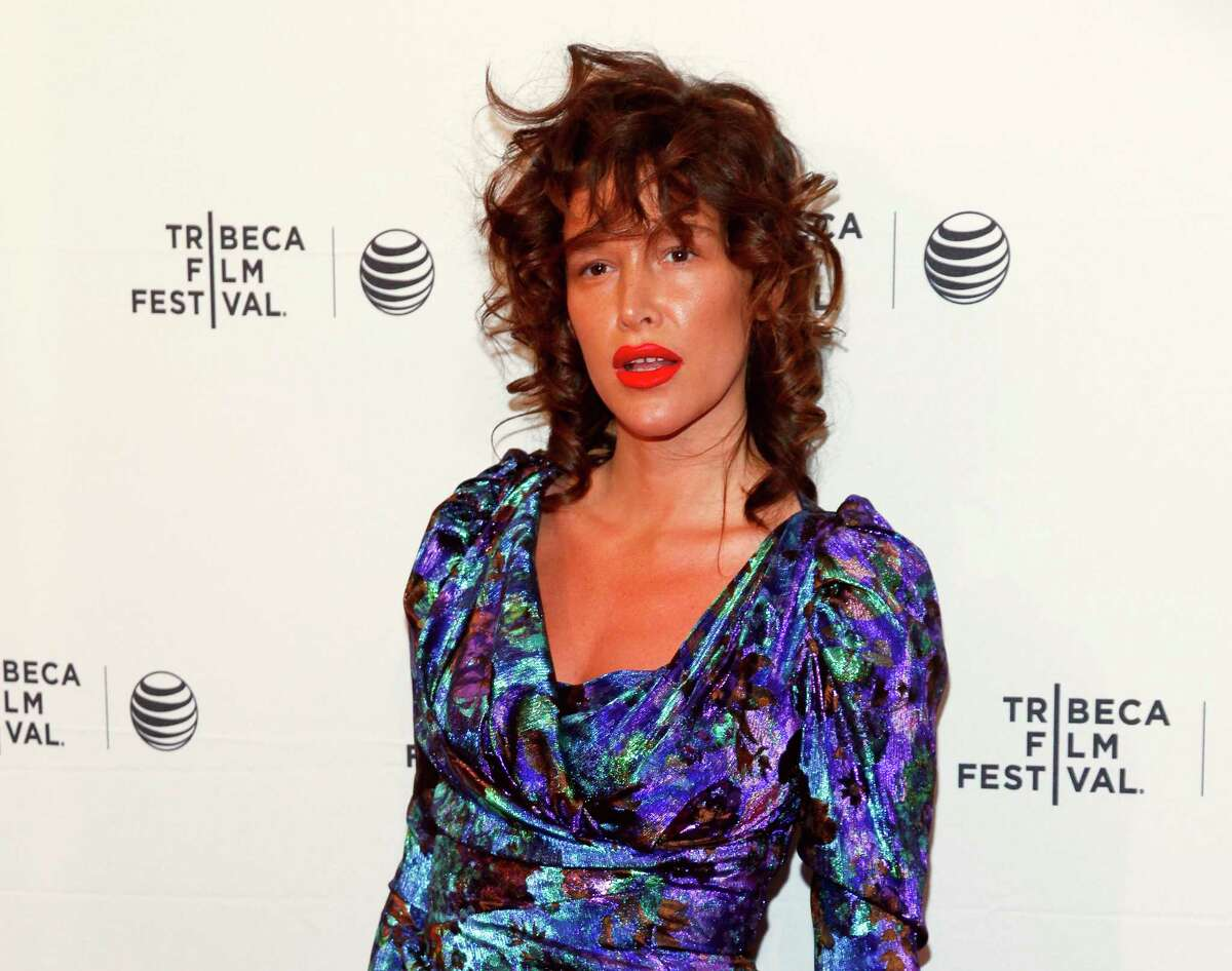 """FILE - In this April 19, 2015 file photo, Paz de la Huerta attends the Tribeca Film Festival world premiere of """"Bare"""" at the SVA Theatre in New York. The lawyer for de la Huerta, who accused Harvey Weinstein of rape said Friday, Dec. 1, 2017, that she is frustrated prosecutors have not yet brought criminal charges. The ?""""Boardwalk Empire?"""" actress publicly accused the movie producer of raping her twice in 2010. She began speaking with police about the accusation in late October. (Photo by Andy Kropa/Invision/AP, File) ORG XMIT: NY121"""