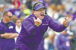 TCU coach Gary Patterson knows most of the Big 12 is probably not in his team's corner for the Horned Frogs' rematch with OU in today's conference title game.