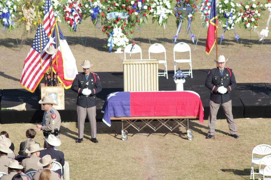 OPD Honor Guard pay respects to fallen Texas DPS Trooper