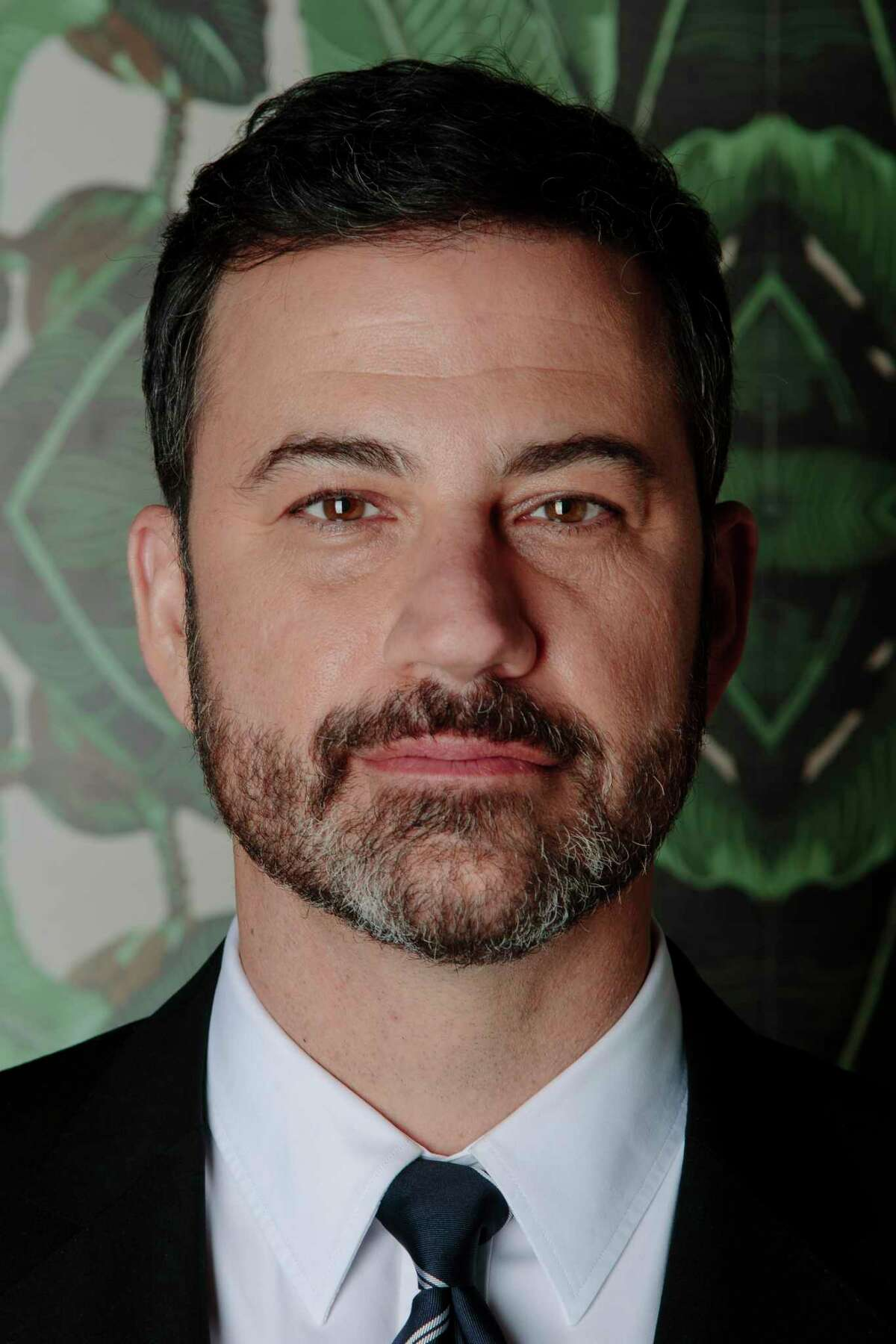 """Jimmy Kimmel, the late-night host, in his show?'s green room in Los Angeles, Feb. 16, 2017. Kimmel is preparing to host the Academy Awards for the first time, and said he?'s not looking at it as a full-time gig. ?""""You never know how these things have gone until you step offstage and read what a bunch of strangers thought,?"""" he said. (Brinson+Banks/The New York Times)-- PART OF A COLLECTION OF STAND-ALONE PHOTOS FOR USE AS DESIRED IN YEAREND STORIES AND RECAPS OF 2017 -- ORG XMIT: NYT196"""