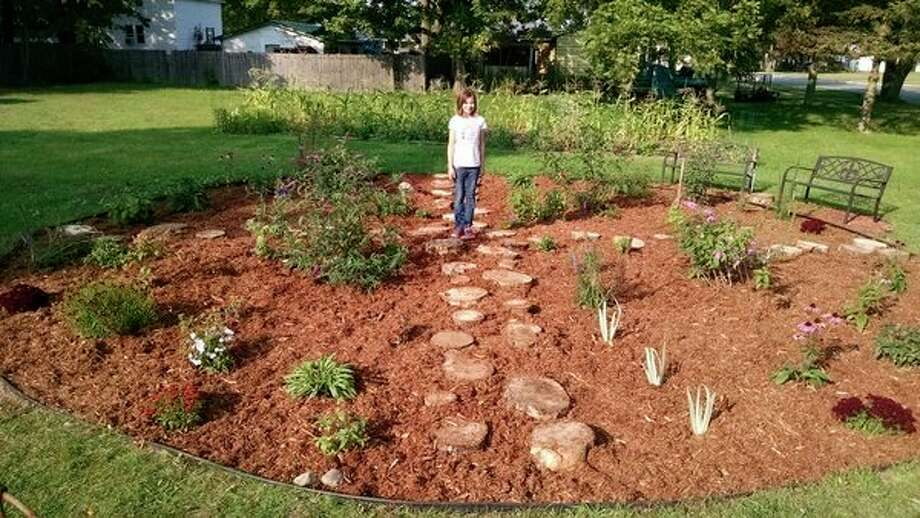 The butterfly garden (Photo provided/Diane Cauchy)