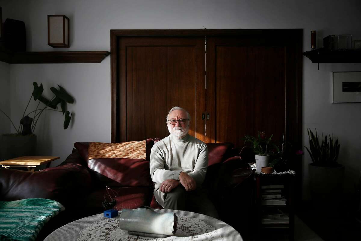 Peter Walter, UCSF biochemist, stands for a portrait on Friday, December 1, 2017 in San Francisco, Calif. Walter is one of this year's recipients of The Breakthrough Prize.