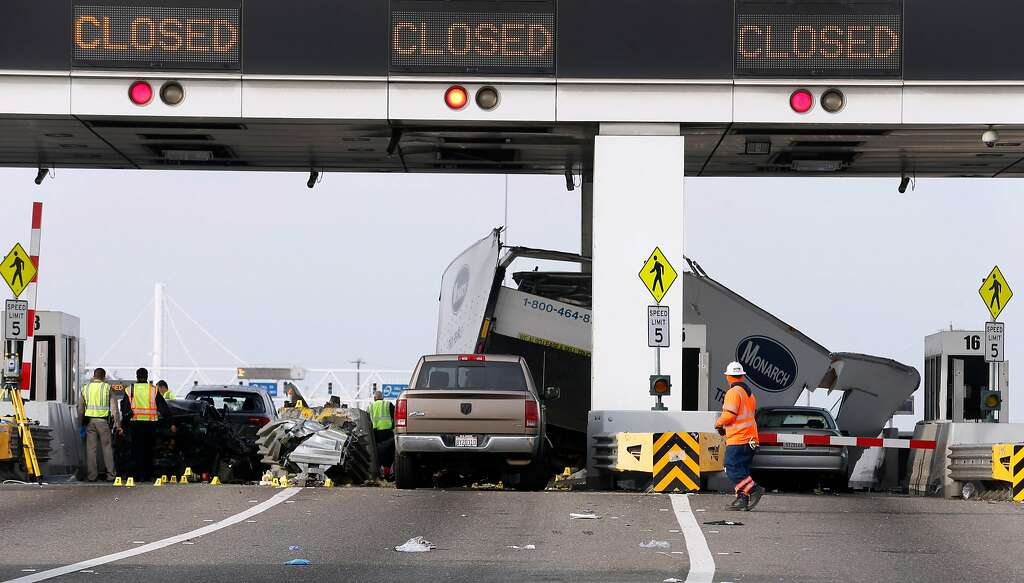 Rental-truck driver booked on DUI after fatal Bay Bridge toll ...