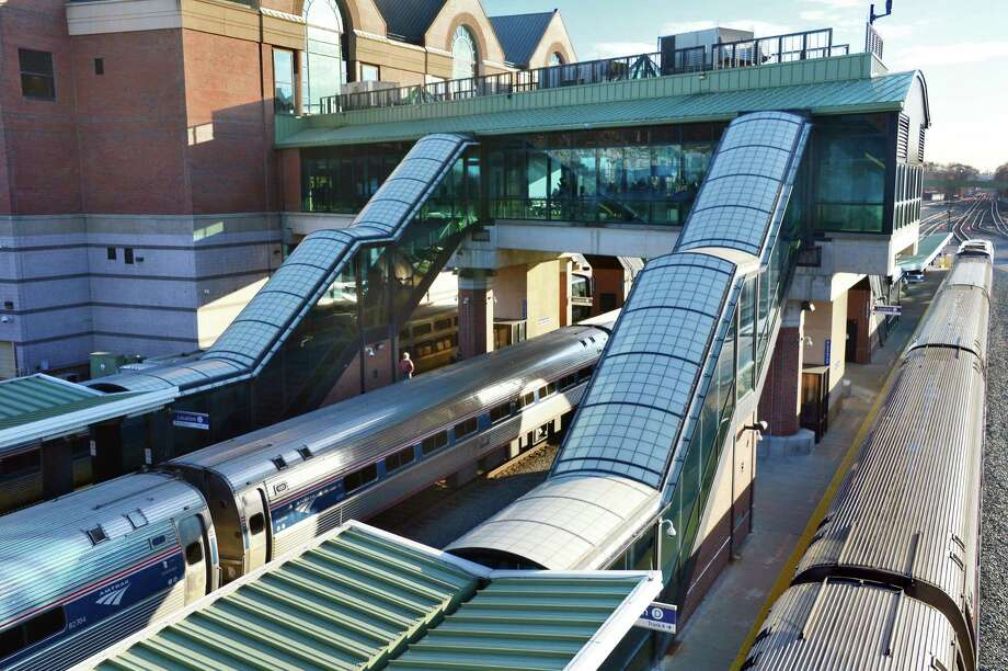 Trains at the Rensselaer train station Thursday Nov. 30, 2017 in Rensselaer, NY.  (John Carl D'Annibale / Times Union) Photo: John Carl D'Annibale