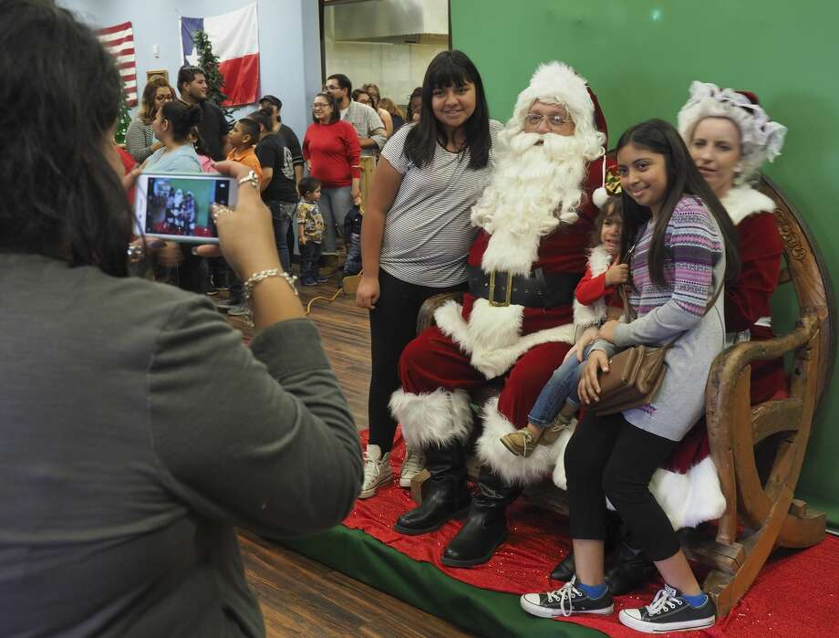 Santa and Mrs. Claus made an appearance 12/02/17 at Susie's South Forty, taking pictures with children and listening to their Christmas wish list. Tim Fischer/Reporter-Telegram Photo: Tim Fischer/Midland Reporter-Telegram
