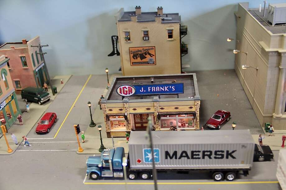 The annual model train show and non-perishable food drivereturned to the Torrington Armory Saturday, Dec. 2 and Sunday, Dec. 3, 2017.The annual event is hosted by the City of Torrington and aTorrington-based model railroad club. The armory is at 153 S. Main St. Photo: Anita Garnett